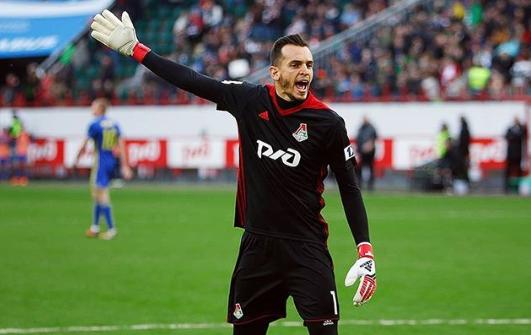 Guilherme em ação pelo Lokomotiv, clube que defende desde 2007 (Foto: Arquivo Pessoal)