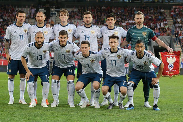 Seleção russa está confirmada para a Copa do Mundo (Foto  Konstantin  Ribin RFS) ec0a00423a3ab